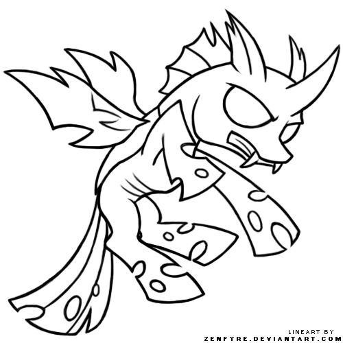 Discord Drawing My Little Pony Coloring Page Transparent Png