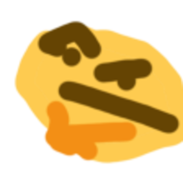 Thonk transparent. Thinking face emoji