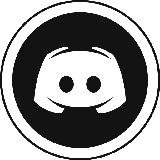 Discord svg bot. Free white icon download
