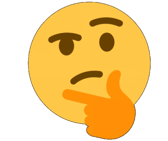 Discord thinking emoji png. Thinkinggnikniht