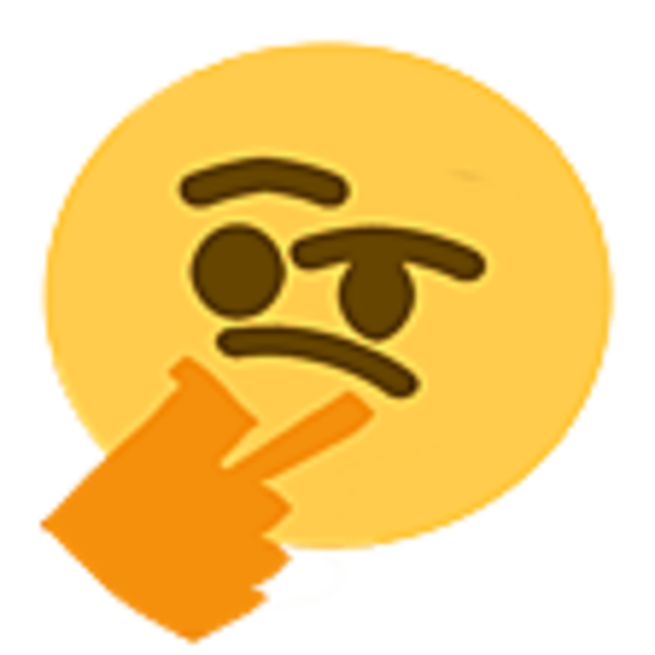 Thonkang thinking face emoji. Glowing eyes meme png clip royalty free