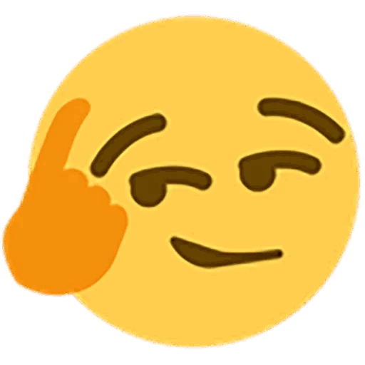 Discord thinking emoji png. Thinkaboutit