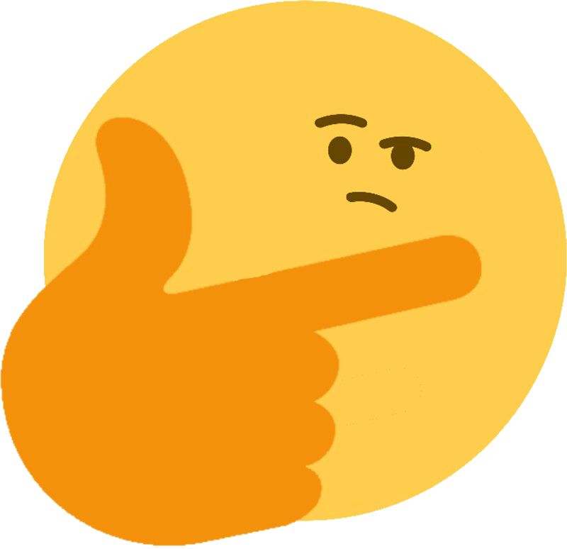 Discord thinking emoji png. Think big thinkbig