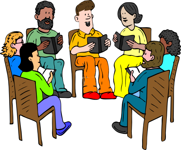 Group vector student. Meeting clip art library