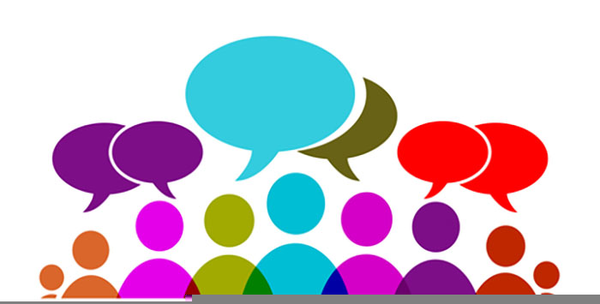 Discussion clipart. People free images at