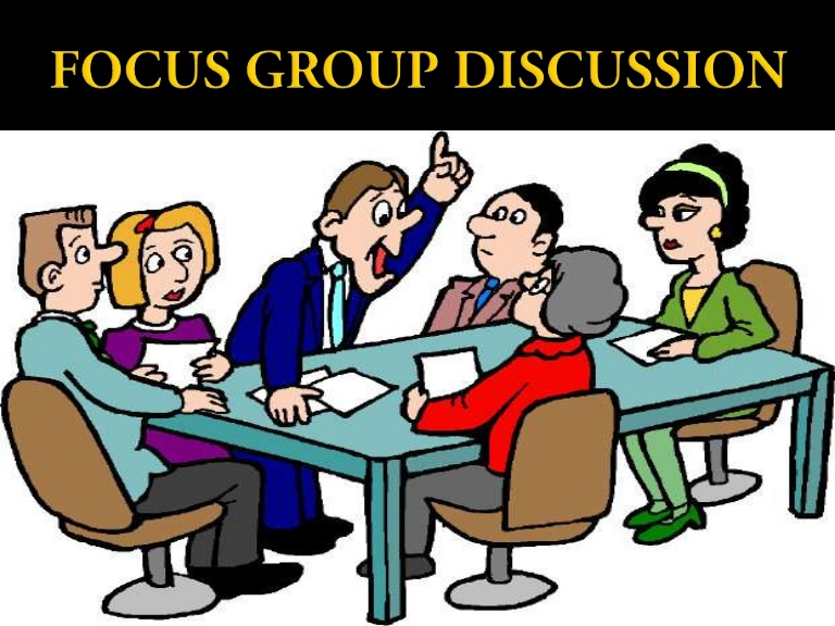 Discussion clipart group role. Focusgroupdiscussion phpapp thumbnail jpg
