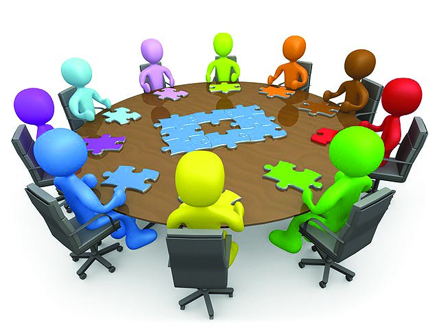Discussion clipart group role. Panda free images info