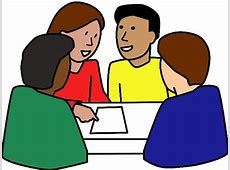 Discussion clipart small group.