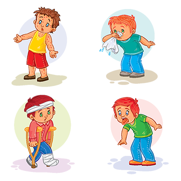 Fever clipart sick girl. Png images vectors and
