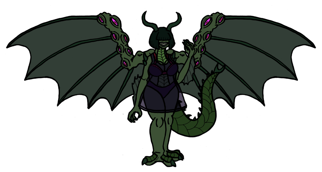 Disease drawing demon. No sympathies gressil by