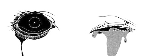 Strength drawing eye. Image result for creepy