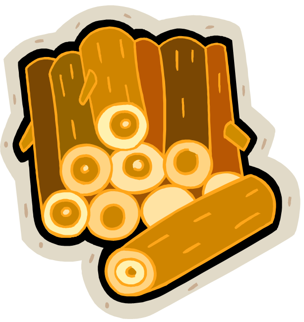 Firewood clipart pile wood. Free cliparts lumber logs