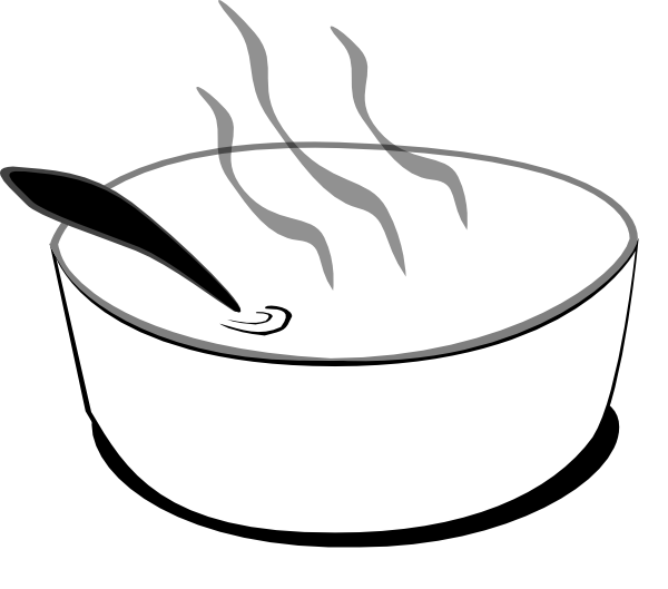Bowl clipart corn soup. Free pictures of bowls