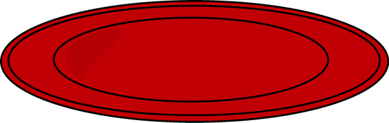 Dishes clipart red plate. Dinner clip art panda