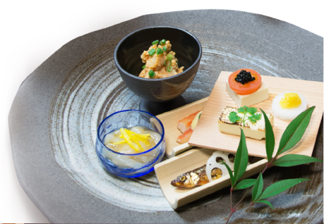 Dishes drawing fine dining. Plate presentations the culinary