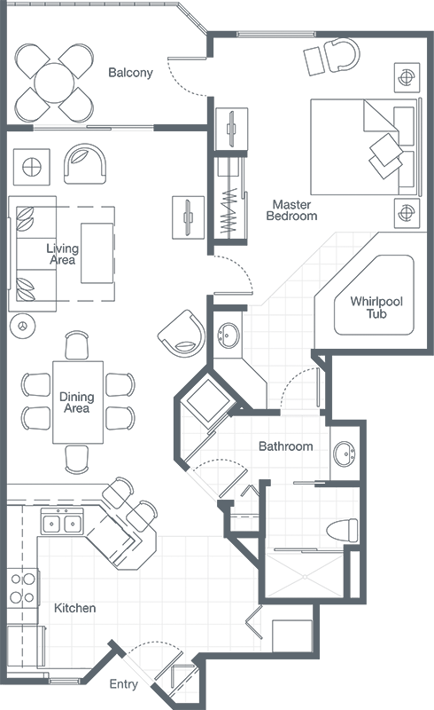 Sheraton vistana resort one. Dishes drawing bedroom svg library download