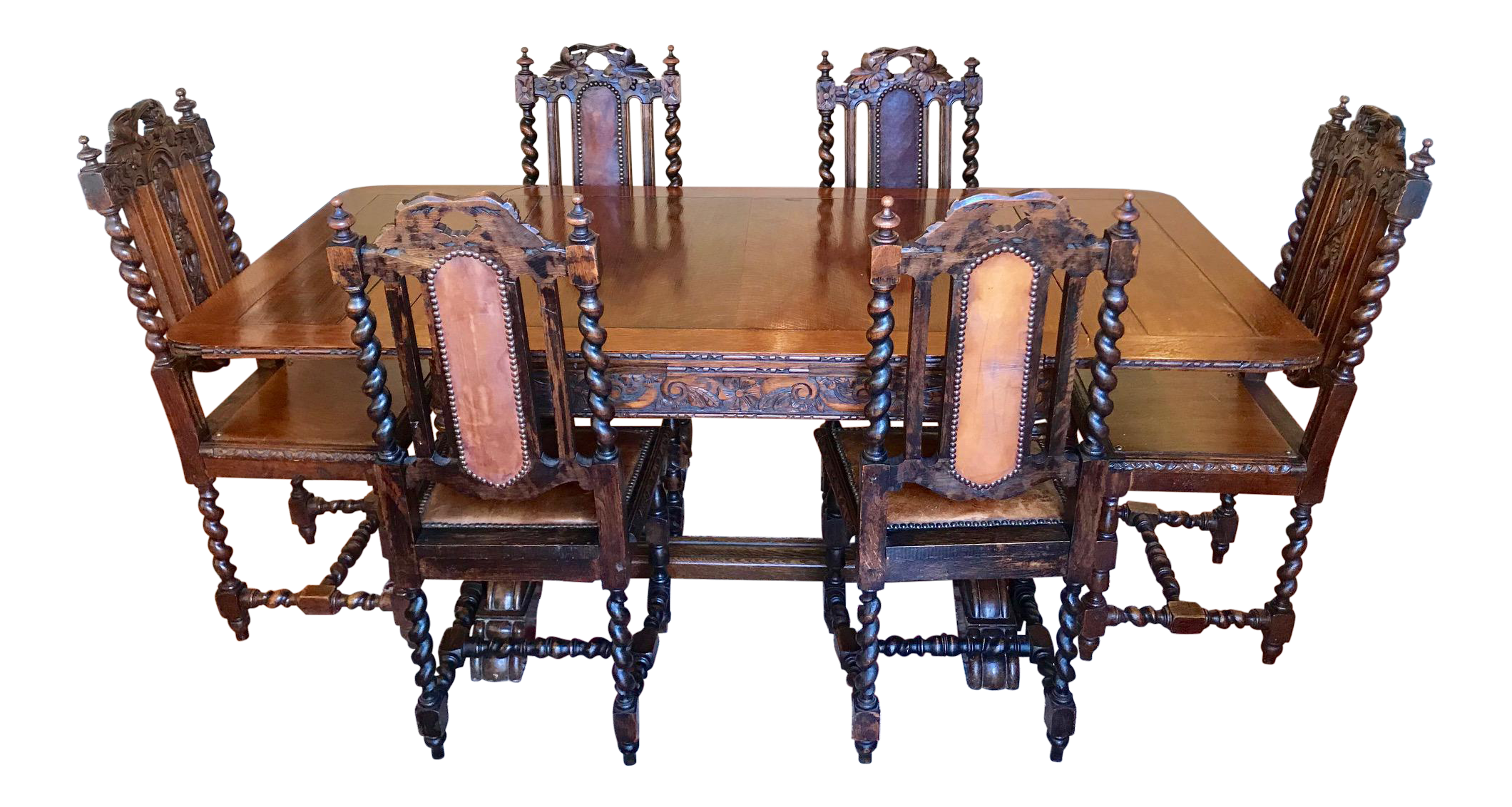 Dishes drawing dinning room. Antique english oak draw
