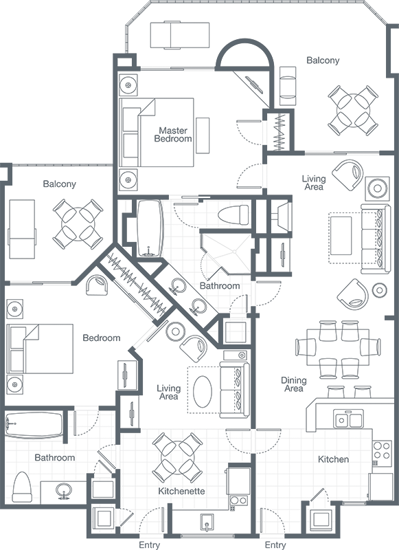 The westin mission hills. Dishes drawing bedroom clipart free stock
