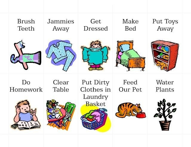 Dishwasher clipart chore. Girl chores printable and