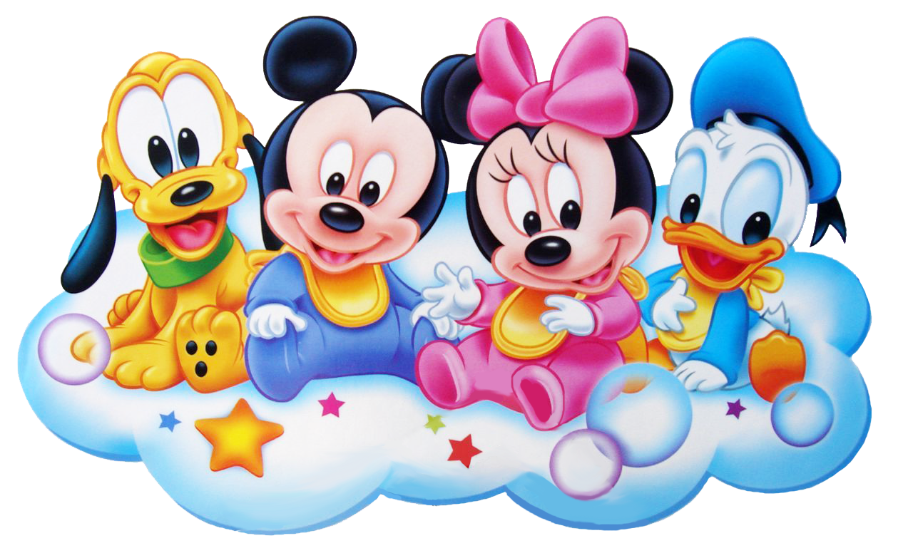 Disney baby group clipart. Mickey y sus amigos png picture transparent library
