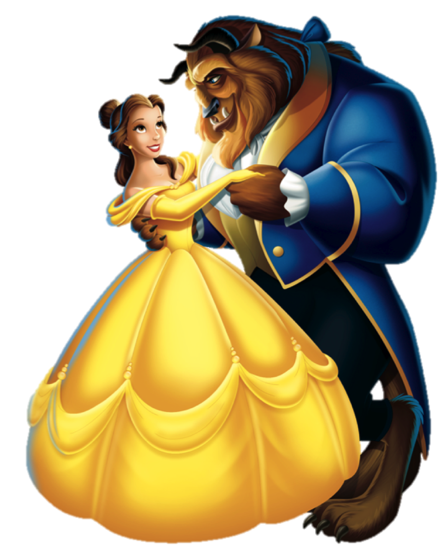 Disney beast png. Belle beauty and the