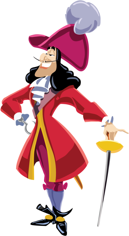 Captain hook png. Download disney image with