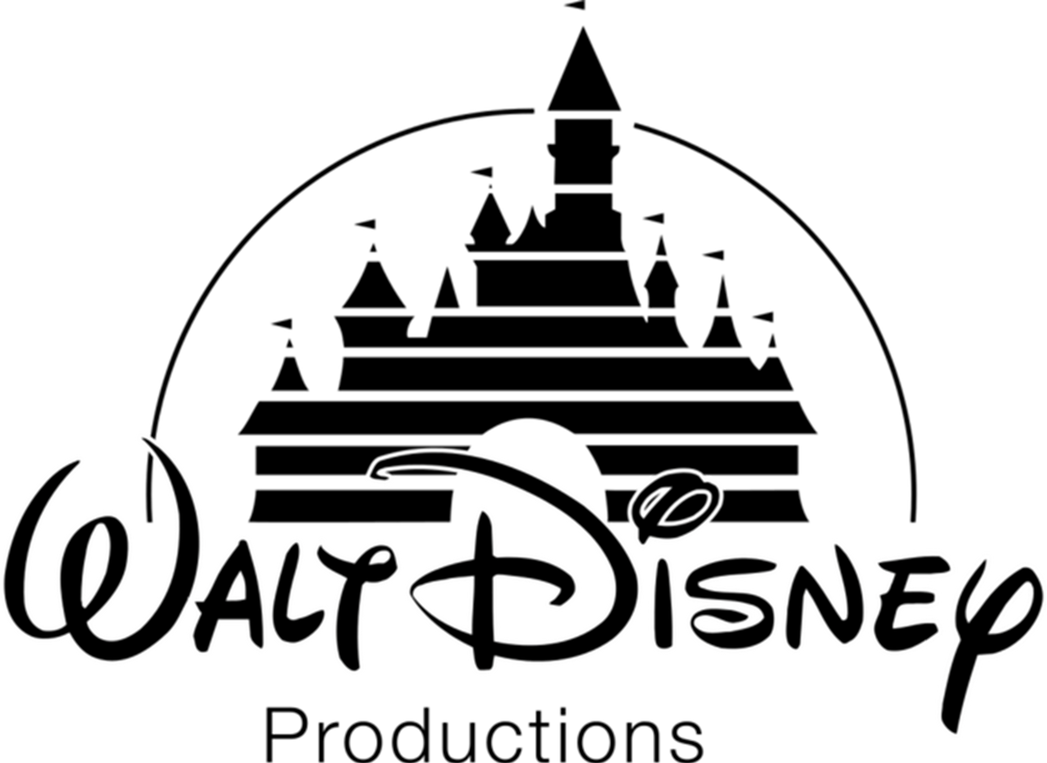 Disney castle logo png. Walt productions with a