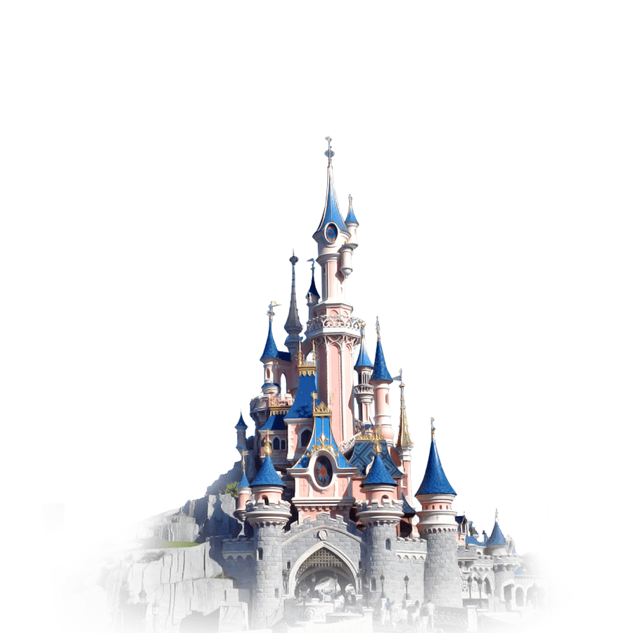 Disney castle png. Disneyland transparent stickpng