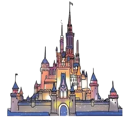 Disney castle png. Transparent tumblr