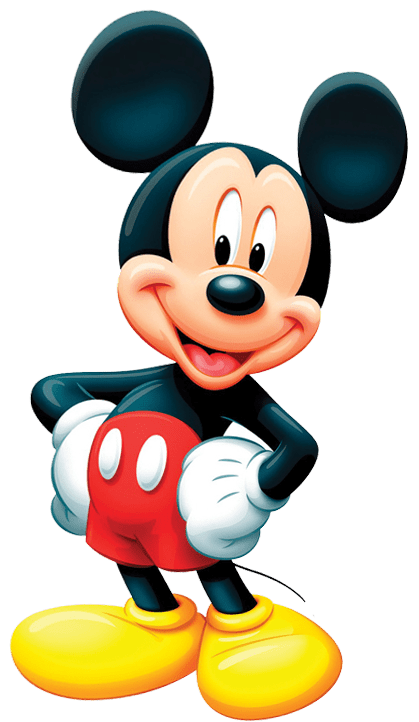 Disney character png. Mickey mouse