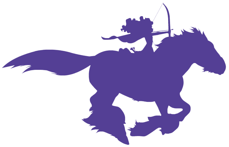 Disney character silhouette png. Image merida and angus