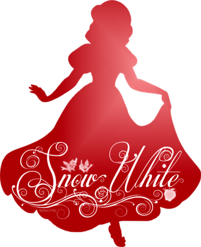 Disney character silhouette png. Princess wallpaper entitled snow