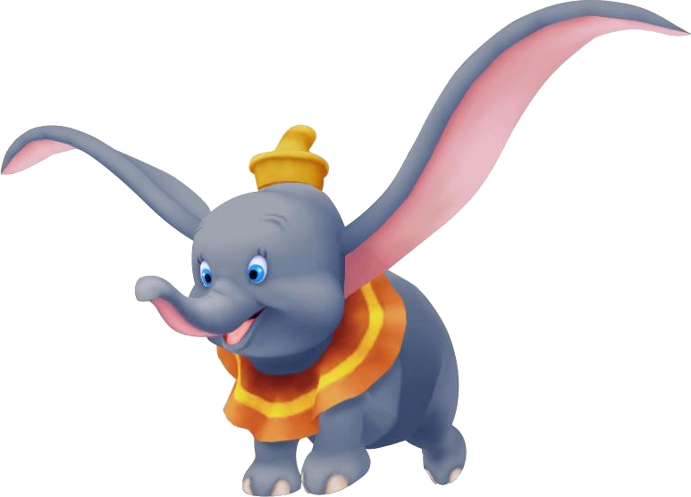 Disney characters png. Image dumbo kh wiki