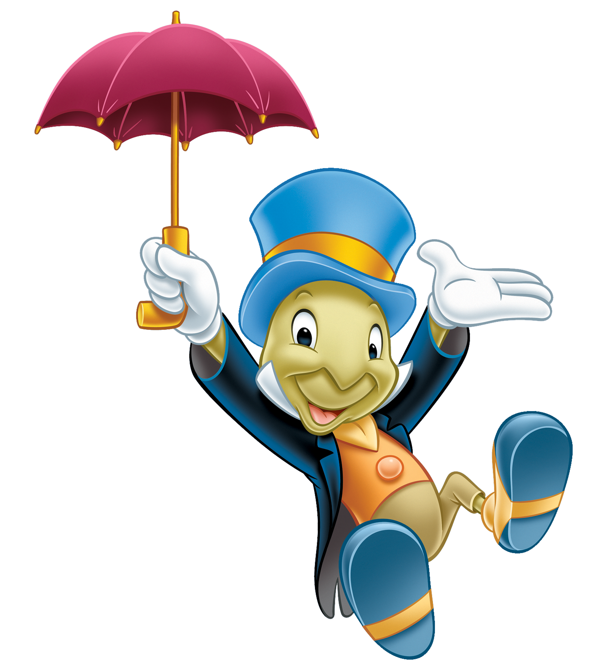 Disney characters png. Role of jiminy cricket