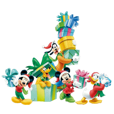 Disney christmas png. Collection of tree