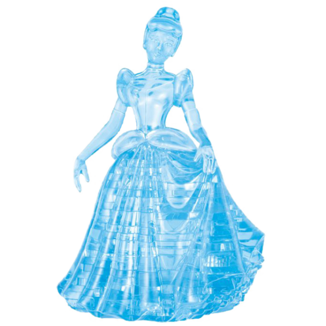 Disney cinderella png. D crystal puzzle from