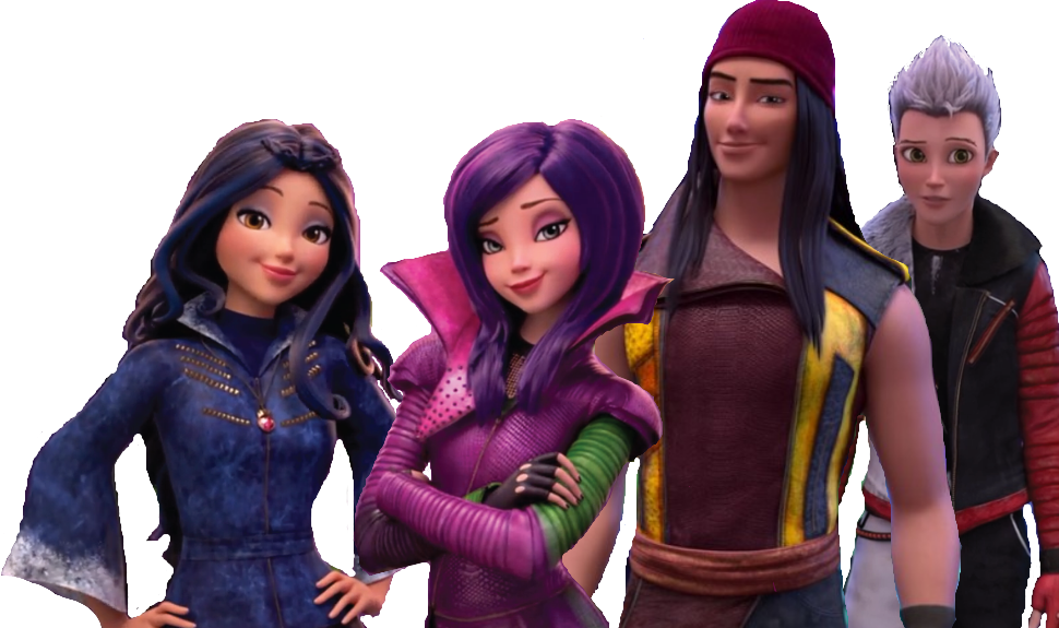 Disney descendants png. Related image wicked world
