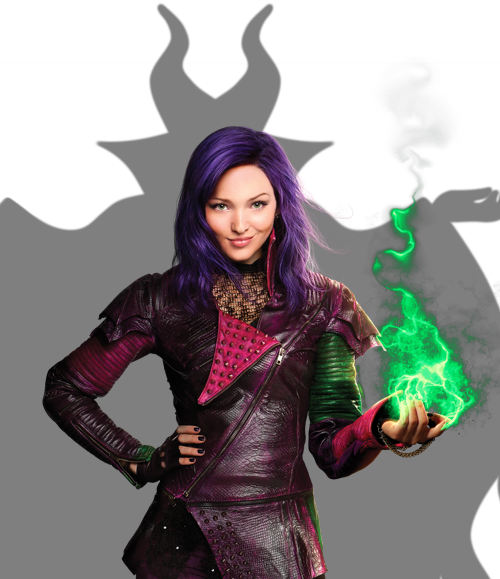 Disney descendants png. Image mal with maleficent