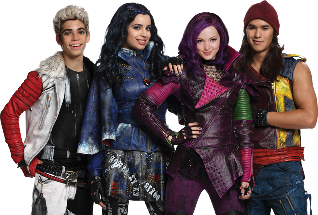 disney's descendants 2 movie - HD 1293×873