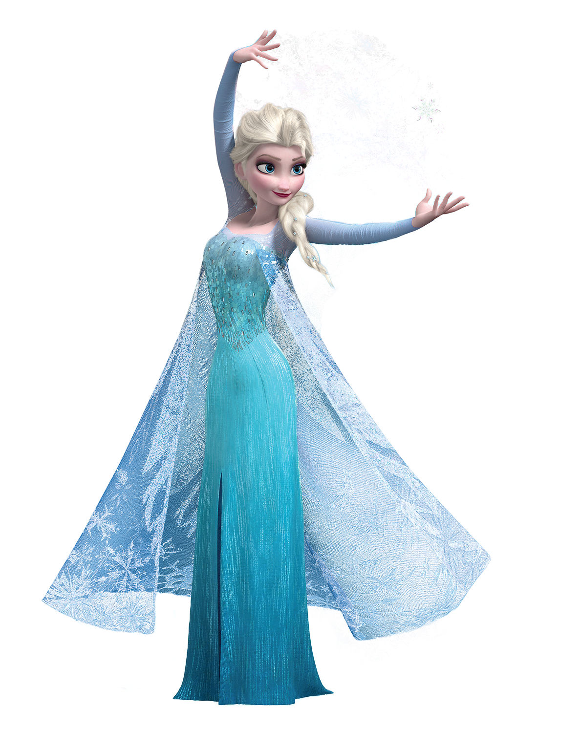 Elsa frozen png. Image render making snow
