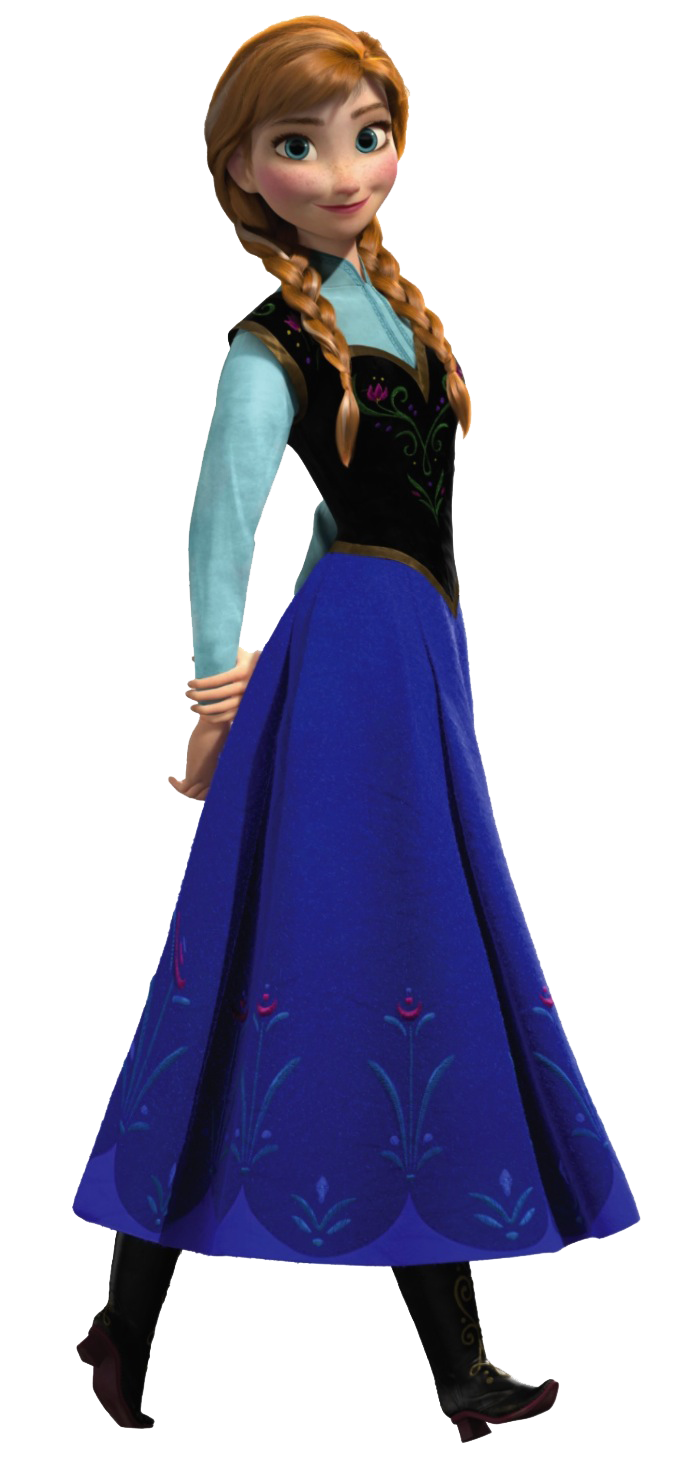 Frozen characters png. Image disney anna princess