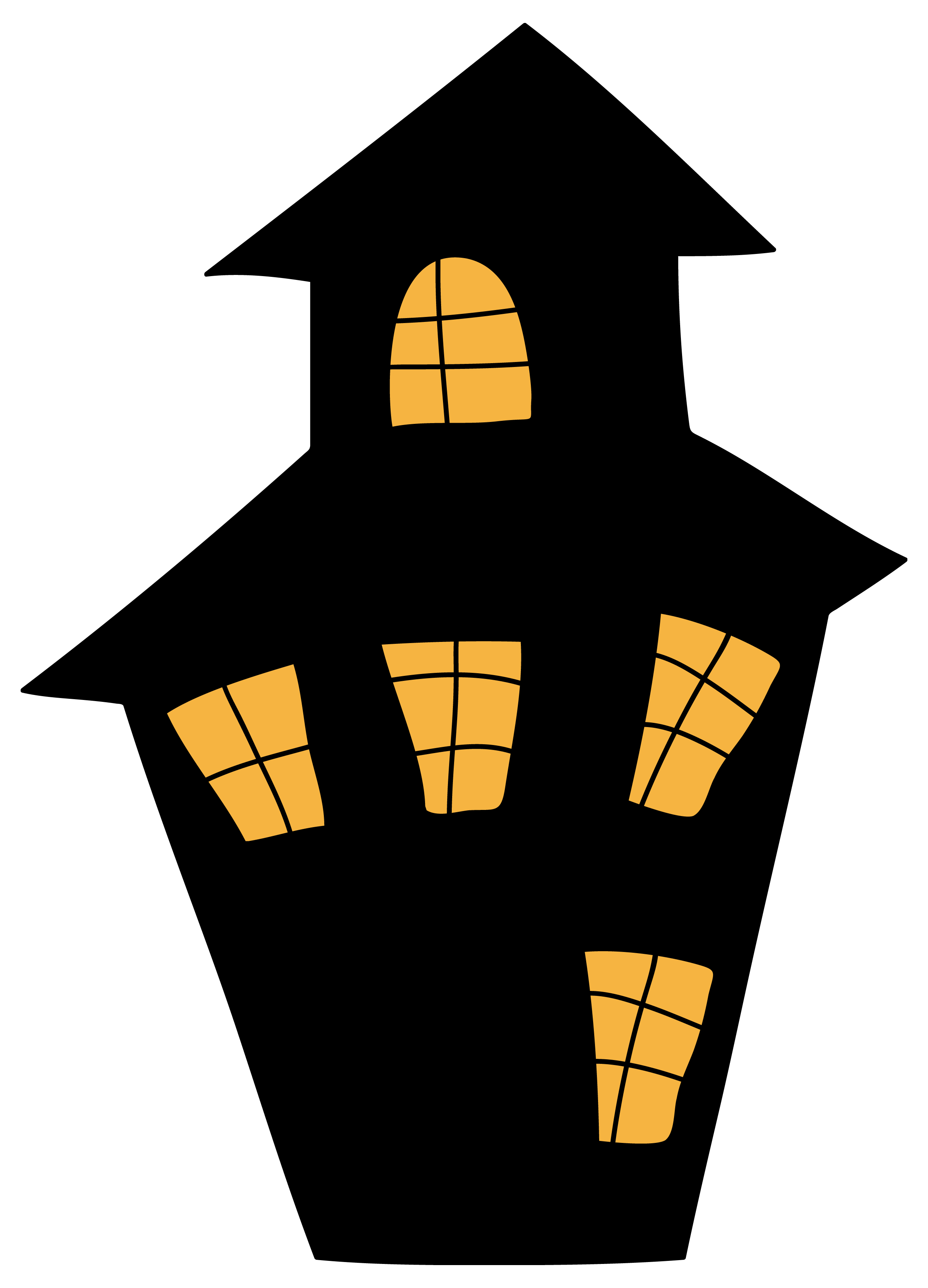 Disney haunted mansion clipart png. House silhouette clip art