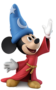 Disney infinity transparent png. Image sorcerer mickey mouse