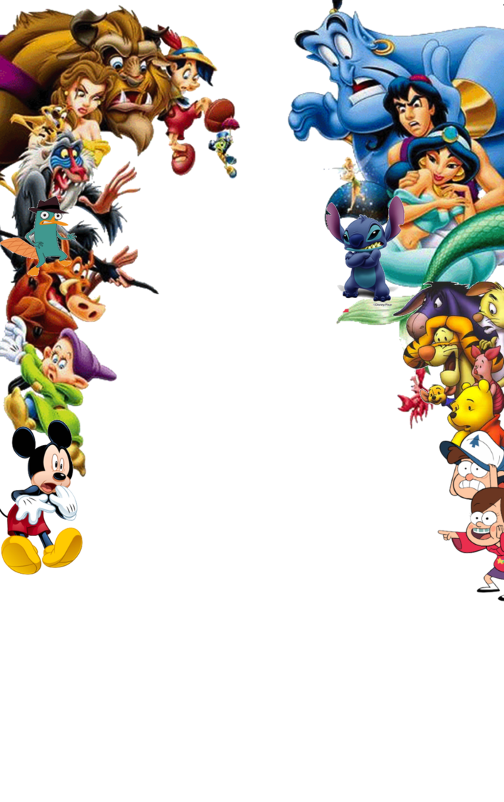 Disney png images. Characters transparent shocked by