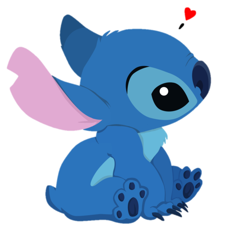 Stitch png. By camipanda editions d