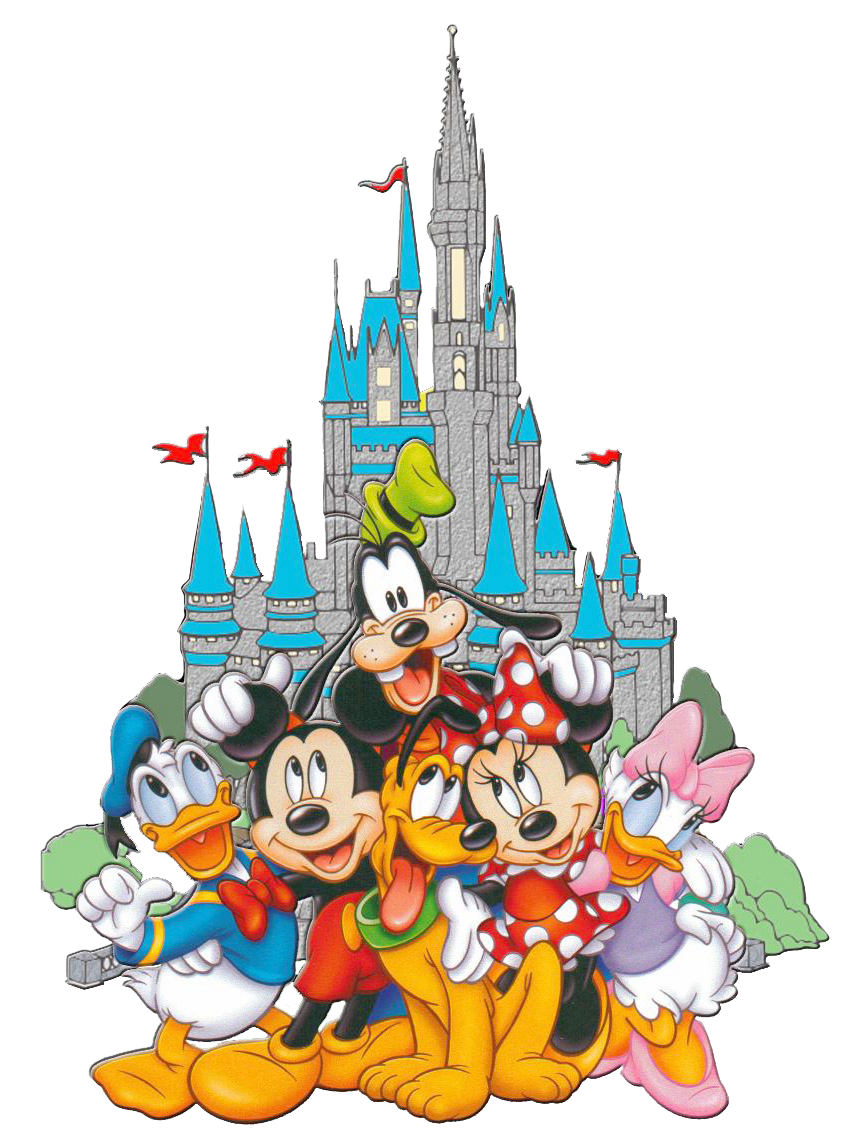 Disneyland clipart hill. Fab castle mickey and