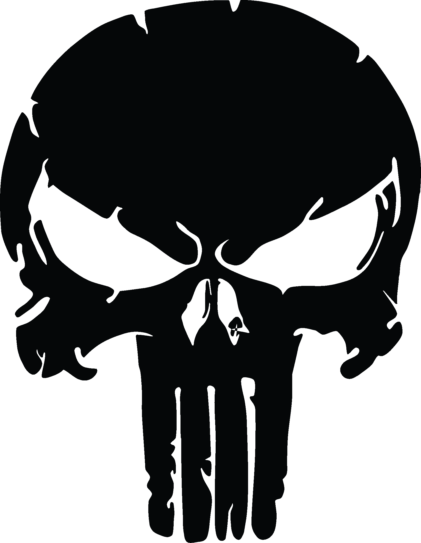 Distressed svg metal. X two the punisher