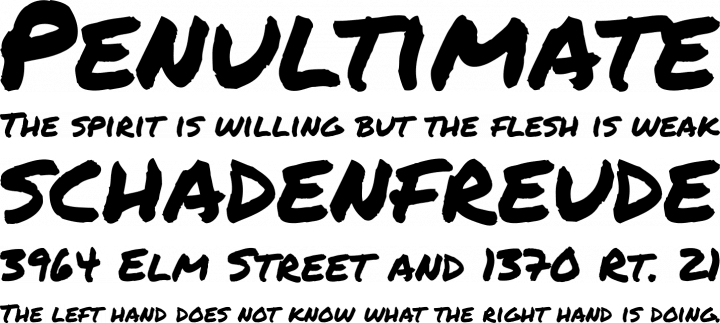Distressed svg scratchy. Permanent marker font free
