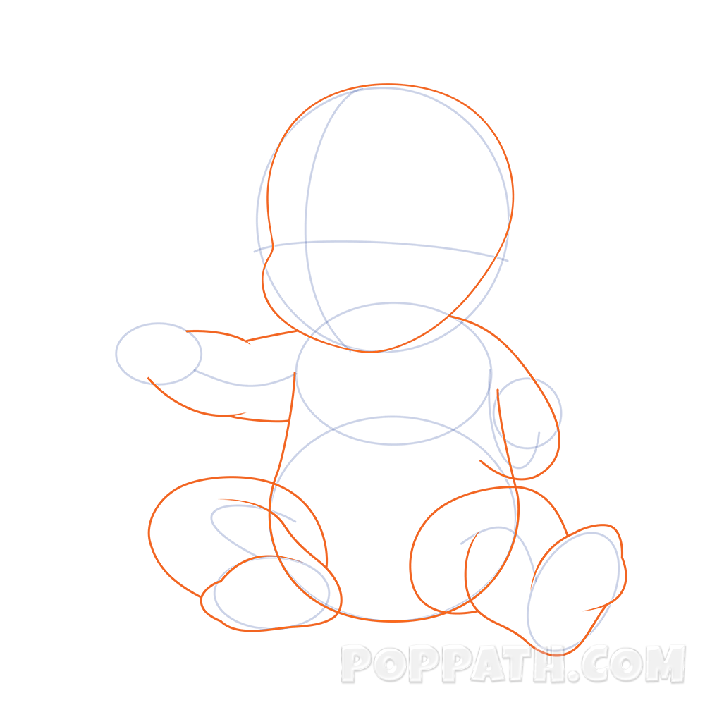 Disturbed drawing baby. How to draw a