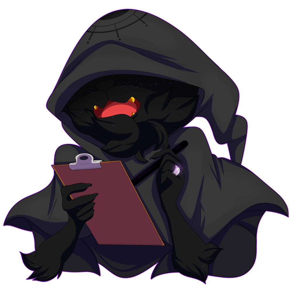 Drawing cloaks mysterious figure. By whistlercrest on deviantart